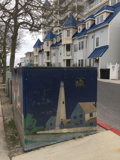 Street art in Ocean City, Maryland Ocmd Streetart Murals OceanCity Maryland EyeEmNewHere