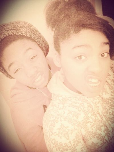 Meh Nd My Pooh Geekin After Outside I Love Her Our Lips Tho