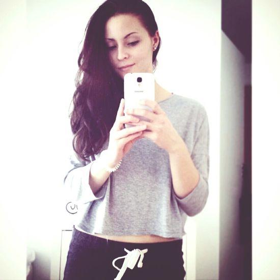 Selfie Finnish  Mirrorselfie Brunette