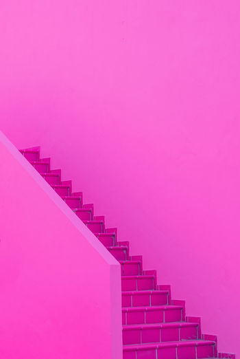 Fashion minimal pink house. architectur details. canary islands. travel advertising
