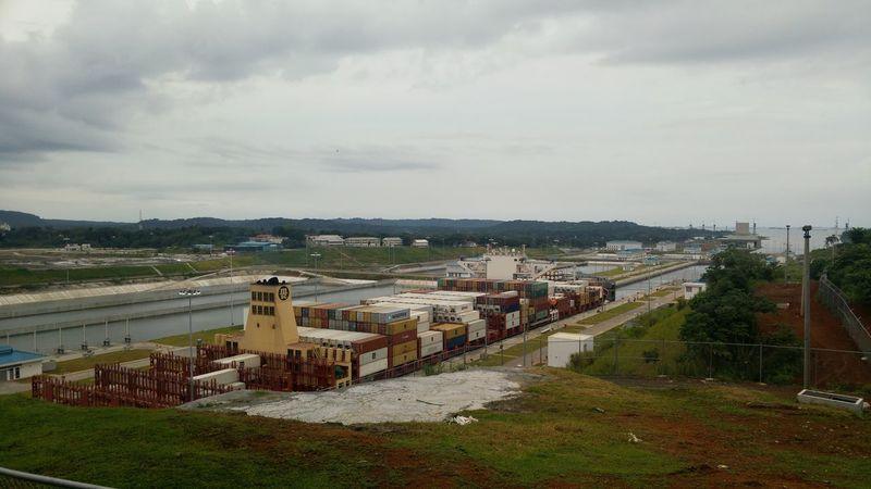 Esclusas Agua Clara Panama Canal Panamá Canal Ampliado Canal Canal De Panama  Lost In The Landscape