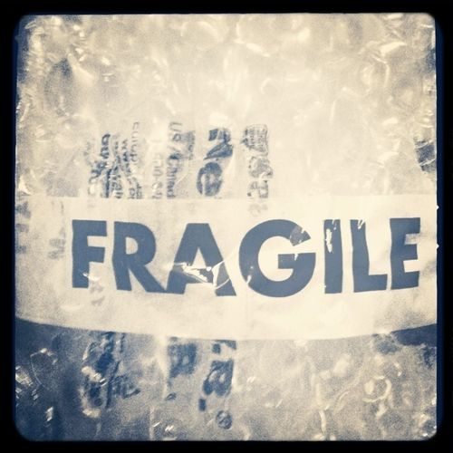 Handle With Care Fragile