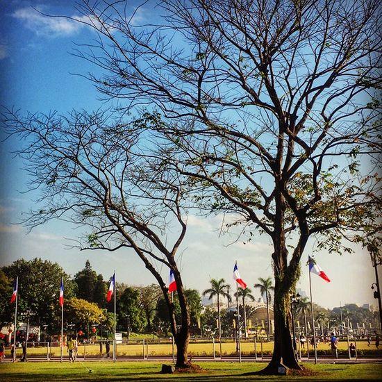 Summer time Luneta Bikingroute Bikinginthecity RizalPark Manila philippines