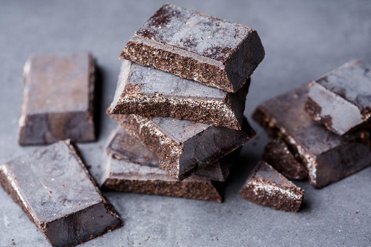 Close-up of chocolate bars
