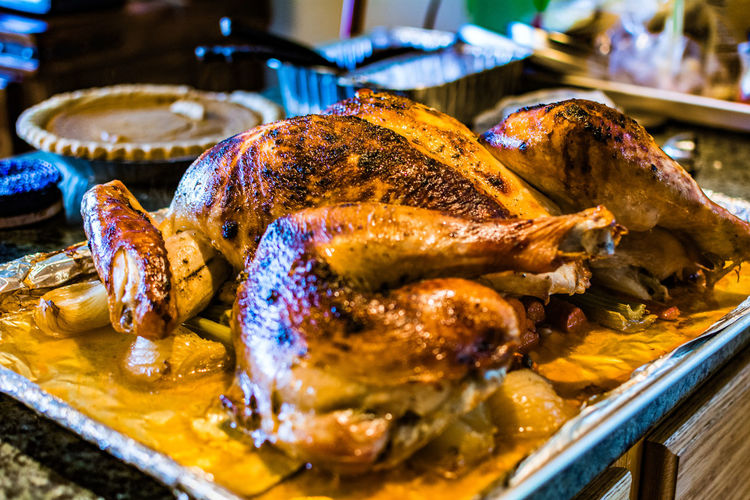 Chicken Meat Close-up Day Food Food And Drink Freshness Healthy Eating Indoors  Meat No People Ready-to-eat Roast Dinner Roasted Table Thanksgiving Dinner Turkey Gobble Gobble White Meat