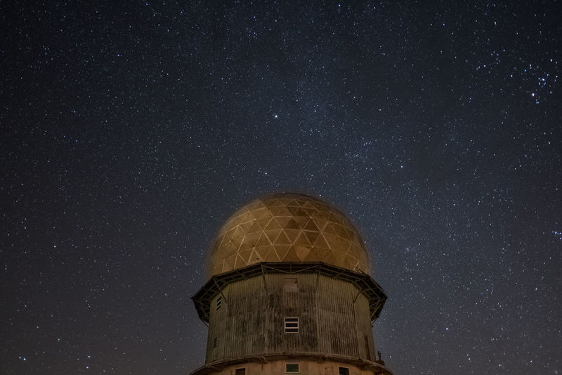 Serra da Estrela Galaxy Hiking Nature Architecture Astronomy Beauty In Nature Built Structure Dome Explore Galaxy Low Angle View Milkyway Mountain Nature Night No People Outdoors Sky Space Star - Space Stars Torre