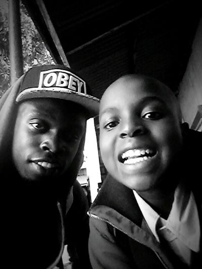 Happy moments with my nephew smile kenya africa Kenya-Nairobi Smile ✌ s Smile Love Blackandwhite