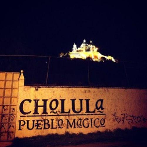 Esta foto ya tiene Tiempo , las mejores Fiestas o Precopeos de las dedico a un Pueblo magico. hermoso cholula.