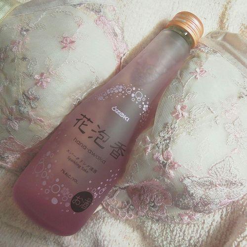 I'll be a drunk now. If I get drunk…? It is secret.(///∇///) Sake Sparklingwater Bottle Drunk Drunk Nights Pretty Brassiere
