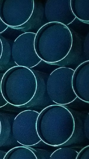 Water Pipe Stacked Pipe Blue Plastic Pipe Something Different To Capture