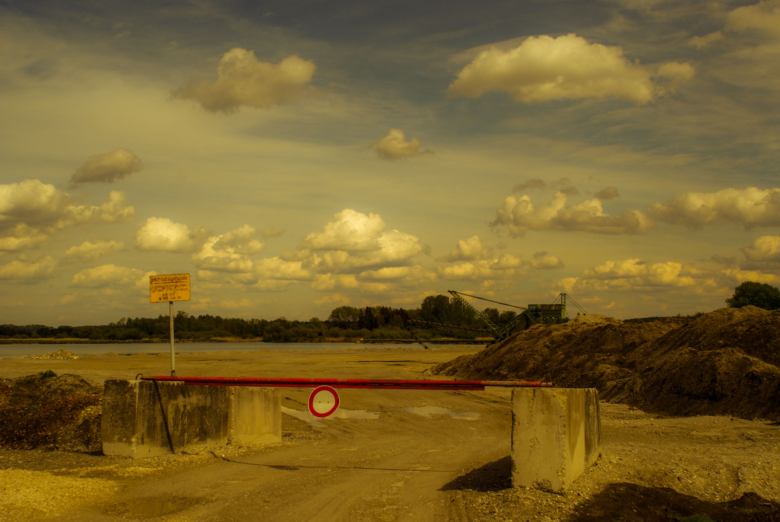 cloud - sky, sky, nature, no people, transportation, road, road sign, sign, architecture, land, built structure, scenics - nature, outdoors, beauty in nature, communication, day, environment, landscape, connection, field