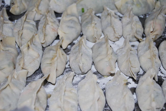 Dumplings Homemade Chinese Food Chinese Food Jiaozi Family Time Cooking EyeEm Best Shots Nikon last time I made dumplings with my mom