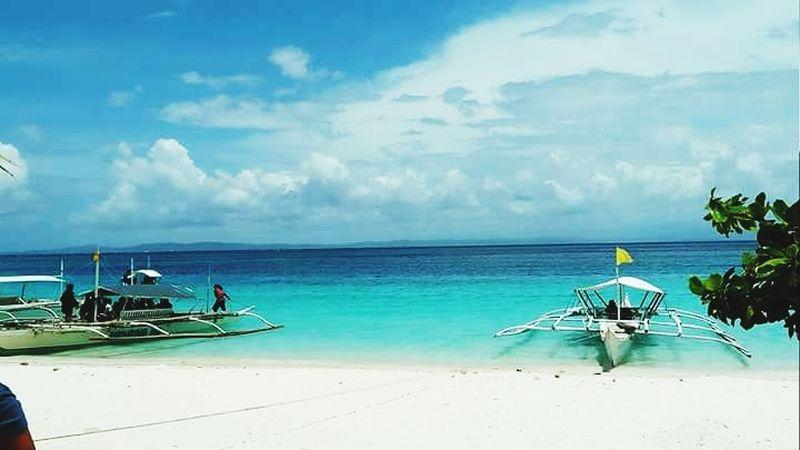 EyeEmanywhere Water Nautical Vessel Sea Beach Sand Blue Tree Summer Tropical Climate Tourist Resort