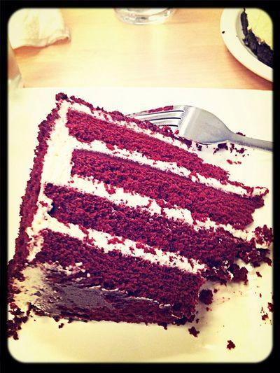 Red Vevlet cake :-* Pastryshopofbobs Cakestagram Foodie