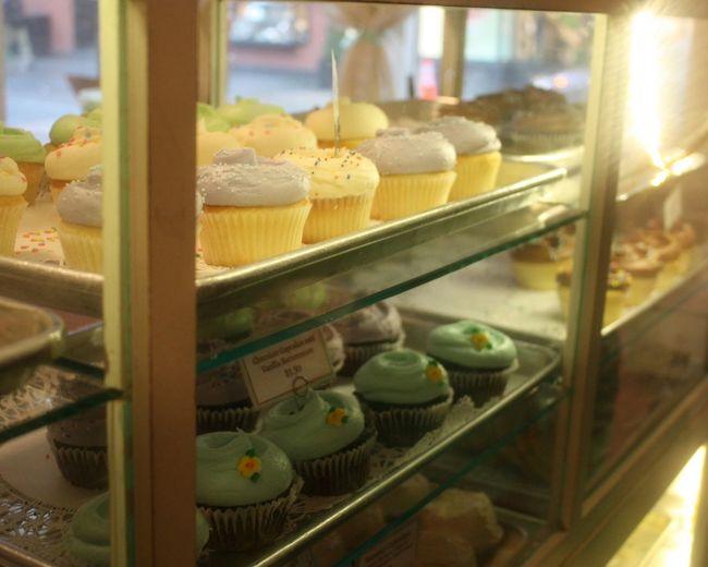 le plaisir des papilles et des yeux ! Magnolia Bakery New York City Cupcakes Gourmandise Goûter Douceur Patisserie Gateau Enjoy