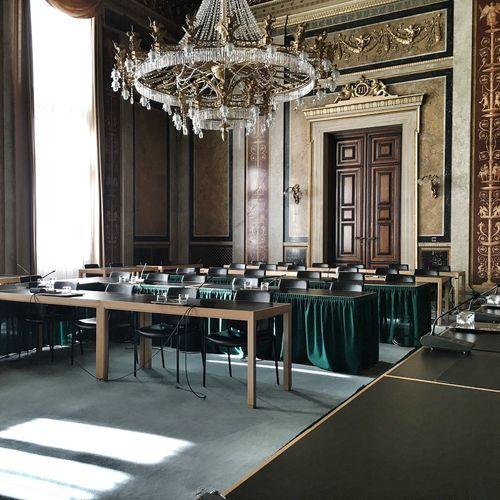 Inside The Parlament Democratic Architecture Hohes Haus
