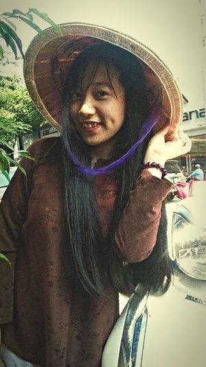 Cô gái bán trái cây That's Me Smile Traditional Costume Vietnamgirls Aobaba