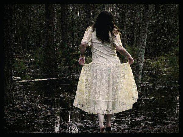Self Portrait Escape Woods Symbolism Vintage Dress The Week On EyeEm