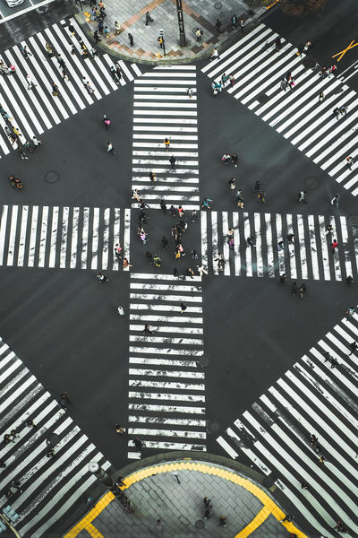 Ginza Crossing It's About The Journey Urbex Urbexphotography Urbanphotography Urban Landscape Cross Section Road Marking Road Crosswalk Marking Zebra Crossing Sign Symbol High Angle View Crossing Outdoors Sunlight Striped Built Structure Architecture City Transportation Communication Day Street
