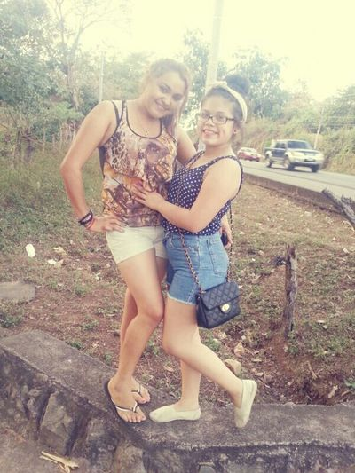 The Cousin And I , When I Went To Salvador To Visit My Fam Yooo ~