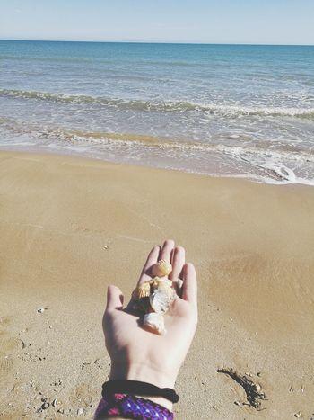 😍Beach Sea Nail Polish Sicily Relax Happiness Freedom GoodTimes Relaxing Moments Sun Bluesky Hand Infinity ∞ Faraway
