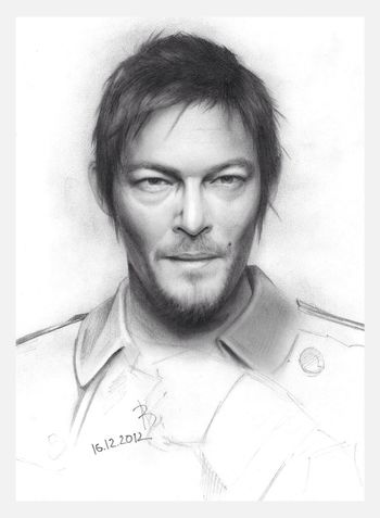 Art Norman Reedus My Picture