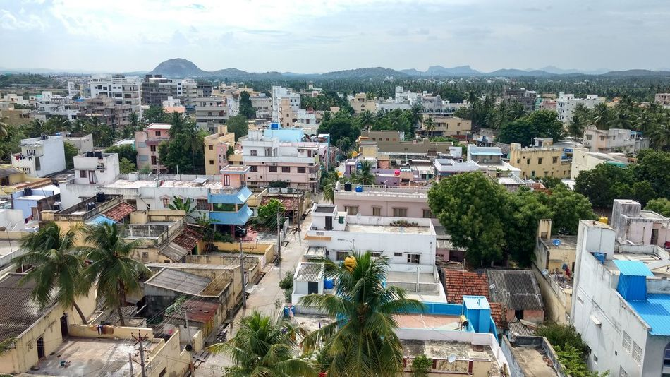 Beautiful indian villages.... Indian Indianstreets Unfiltered Buildings & Sky High Angle View Cityscape Tree Travel Destinations Crowded Wide House Architecture