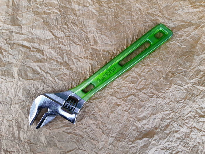 Indoors  Close-up Green Color Paper Tool Single Object Work Tool Hand Tool Equipment Metal