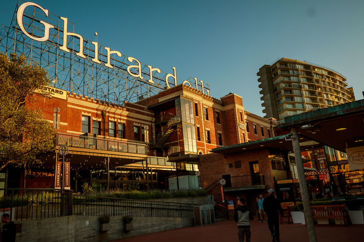 Ghirardelli  Ghirardelli Square San Francisco Sign Building Exterior