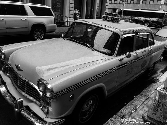 Old School Cabbie. Join The Revolution Join Our Revolution Eye4photography  New York KyRevPhotography Wicked Awesome Photography People Of EyeEm AdobeLightroom Shot On IPhone 6s Photo By Me Check This Out Lightroom Cc Manhattan Working Taxi Classic Car Classic Wonderful