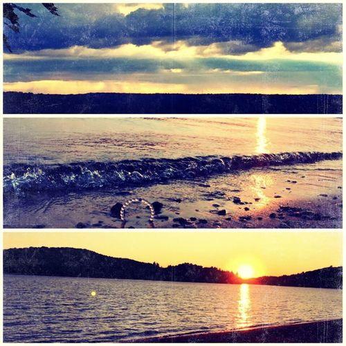 Lokiabracelet Stay Humble Stay Hopeful Lake View Sunset Beach Sea And Sky Photography