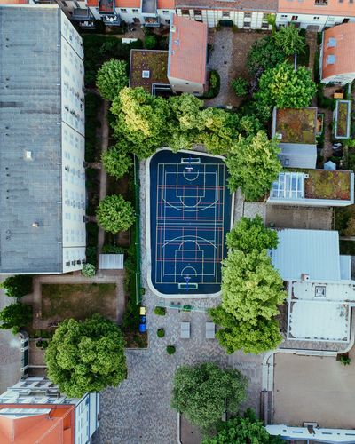 - From above - Architecture Building Exterior Tree Built Structure Day No People Outdoors City Close-up Drone  From Above  Playground EyeEmbestshots EyeEmBestPics EyeEm Best Shots Houses Cityscape City Potsdam The Architect - 2018 EyeEm Awards #urbanana: The Urban Playground