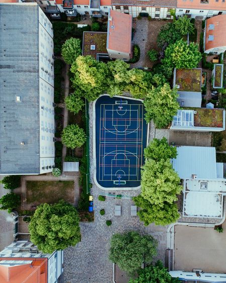 - From above - Architecture Building Exterior Tree Built Structure Day No People Outdoors City Close-up Drone  From Above  Playground EyeEmbestshots EyeEmBestPics EyeEm Best Shots Houses Cityscape City Potsdam