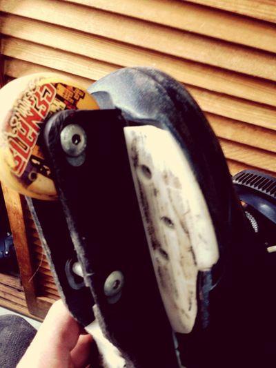 Mis viejos patines !!!