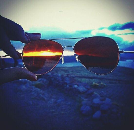 Sunset Puno Glasses Landscapes Landscape_photography Puno, Perú Chulpas Puno Picoftheday