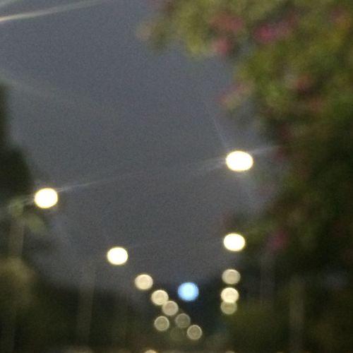 朦胧的街灯 First Eyeem Photo