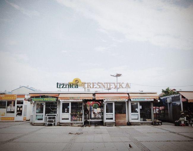 Tresnjevka Marketplace | Zagreb 2013 Architecture Streetphotography Sunday