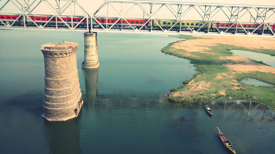 Indian Railway Water Reflection Day No People Outdoors Built Structure Architecture The Great Outdoors - 2018 EyeEm Awards My Best Travel Photo EyeEmNewHere