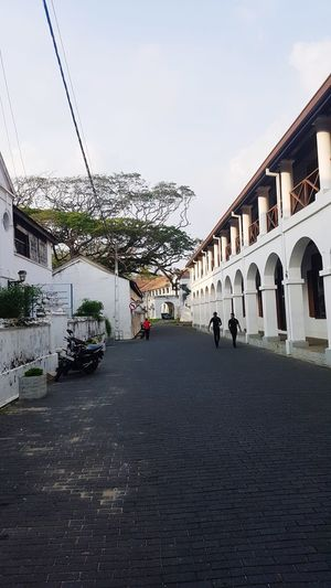 Built Structure Architecture Travel Destinations Street Tourism Destination Tourism Historical Galle Fort Dutch Fort Sri Lanka Architecture