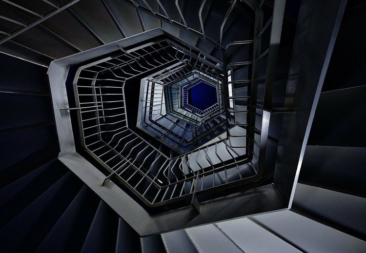 Interior Design Japanese  Japan Blue Pattern Architecture Stairs The Architect - 2016 EyeEm Awards Architecture_collection