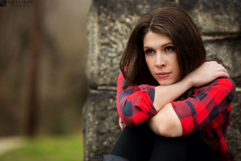 Lost in thought.... Model Evie Modeling Fashion Photography Style Plaid Shirt  Old Navy  Beauty Pretty Girl Photoshoot Woman