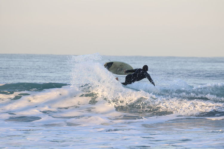 Adventure California Day Horizon Over Water Leisure Activity Motion Nature One Person Outdoors Recreational Pursuit Sea Speed Splashing Sport Surfer Surfer Girl Surfing Vacations Water Wave