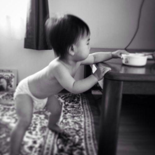 Baby Babygirl Cute 子育て 赤ちゃん かわいい よちよち
