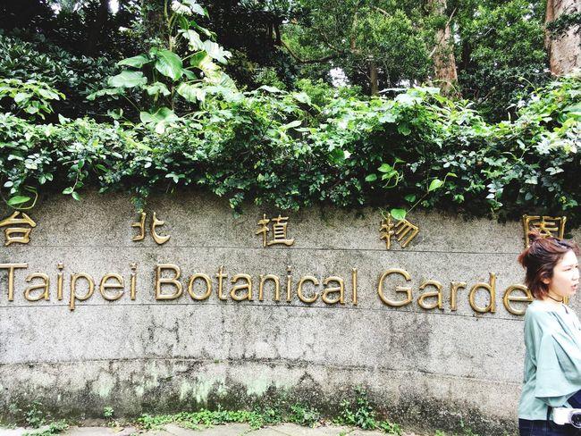at Botanical Gardens Taipei Sunny Day Holiday Travel 台湾 台北植物園 Tomの見た世界