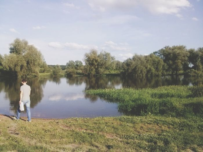 Тарас, ти як свіжа булочка (с). River Mood Nature Feelings