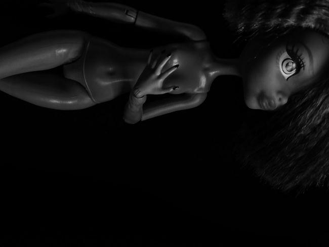 Close-up Monsterhighphotography Portrait Monsterhighdolls Barbie Black & White