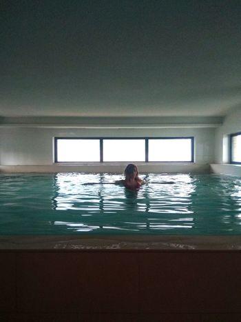 Water Swimming Swimming Pool Window Women Sea Architecture