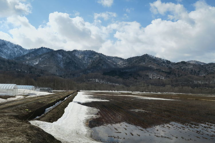 spring niseko hokkaido japan Nature No People Day 2019.4 Hokkaido Outdoors