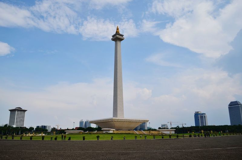 The National Monument of Indonesia at Jakarta National Monument INDONESIA Jakarta Tall Monument Capital Tower