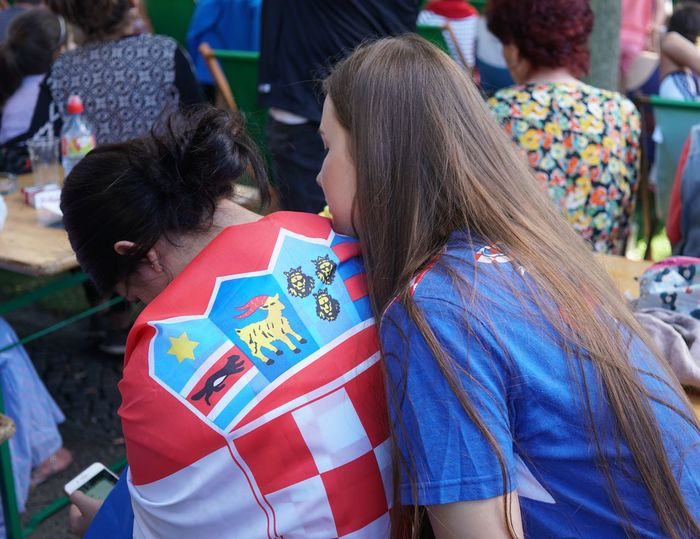 Berlin, Germany - July 15, 2018: Croatian football fans watching FIFA World Cup 2018 match France vs Croatia. France became World Champions for the second time after defeating Croatia 4-2 Croatia Croatia ❤ FIFA World Cup Russia Fifa Football Football Fever SUPPORT Supporters Audience Competition Croatia ♡ Croatian Fan Fan - Enthusiast Fans Fifa18 Fifa2018 Final Football Fan Football Fans Football Fans 2018 Football Supporters Match - Sport Soccer Soccer⚽ The Photojournalist - 2018 EyeEm Awards